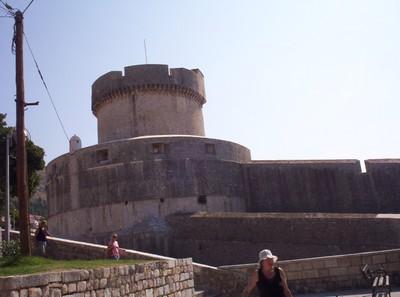 DUBROVNIK  CROATIA.  Minceta Tower.