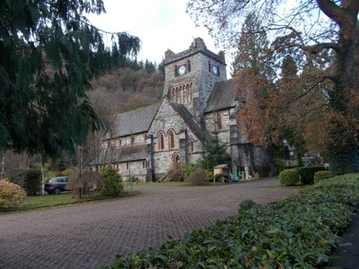 BETWS-Y-COED  WALES.  St.Marys church.a Victorian church,  built between 1870 and 1873.