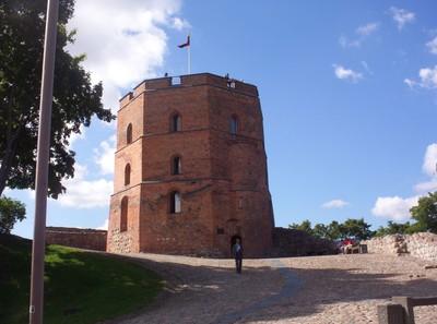 VILNIUS LITHUANIA.    Gediminas  Tower.