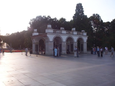 WARSAW  POLAND.    Tomb of the Unknown Soldier