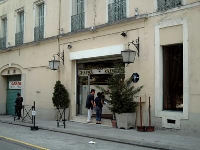 CARCASSONNE   FRANCE  --  Hotel  Bristol.  --  25  minutes  walk   from  Citadel.