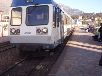 CORSICAN TRAIN.