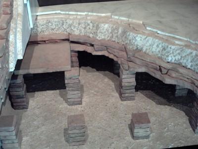 In the  Roman  Museum.