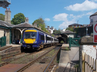 ENGLAND.   Knaresborough station. North  Yorkshire.