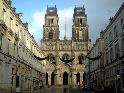 ORLEANS  FRANCE. --Cathedral.  -- Seat of a Bishop.