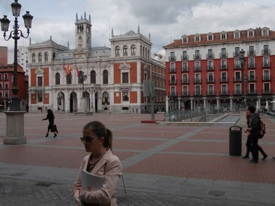 VALLADOLID,  SPAIN.--   Plaza  Major.