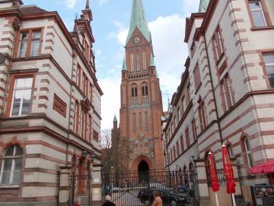 SCHWERIN  GERMANY.   Cathedral.