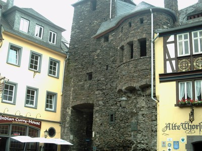 COCHEM  GERMANY    Old Gateway dating from 1332.