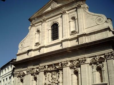 AVIGNON   FRANCE.----Baroque   church.
