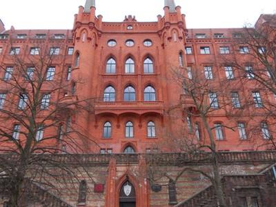 SZCZECIN  POLAND.     City Hall  19th Century.