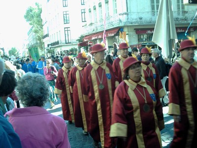 AVIGNON  FRANCE,  Parade  in  main  street.