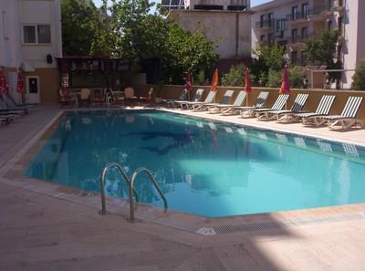TURKEY  MARMARIS     Mert Hotel   Pool.