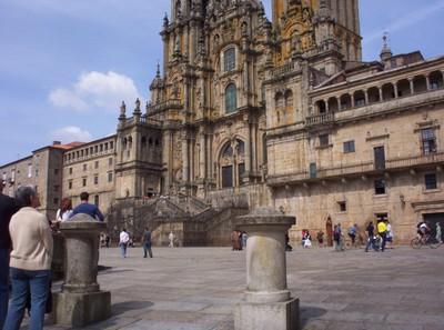 SPAIN  SANTIAGO DE COMPOSTELA ..   End of Pilgrimage route.