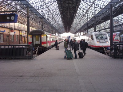 HELSINKI  FINLAND   Railway station.
