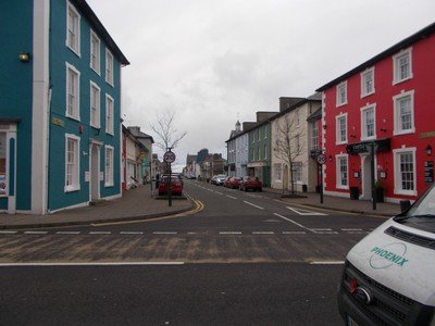 ABERAERON  WALES. Paint companies must be doing well !