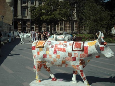 TOULOUSE  FRANCE.     Cow  Parade.