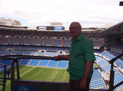 REAL  MADRID.. High up in Stand.