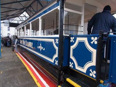 LLANDUDNO WALES,  Great Orme tram.