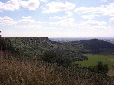 SUTTON  BANK,  is part of the  Hambleton  Hills.