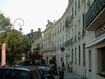 CARCASSONNE,  FRANCE  -- Hotel in  this  street,  Avenue Du  Marechal  Foch