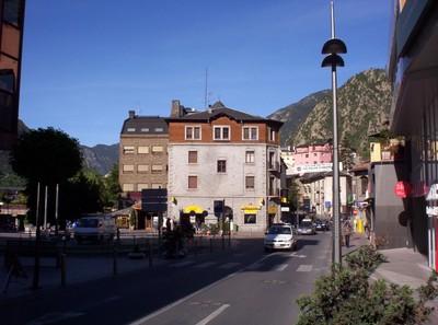 Andorra  la Vella.    ANDORRA.