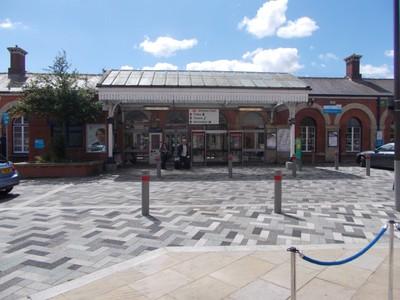 GRIMSBY Railway station.