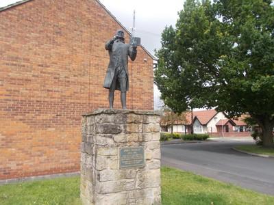 STATUE OF JOHN WESLEY.