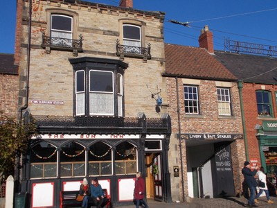 SUN INN,IN BEAMISH MUSEUM,CAME FROM BISHOP AUCKLAND.OPEN FOR BUSINESS.