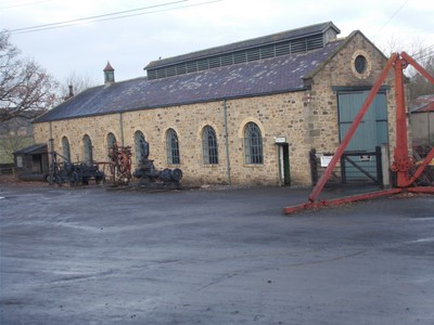 BEAMISH MUSEUM. Engine Sheds.