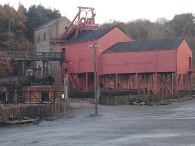 BEAMISH MUSEUM .  1900s Colliery.