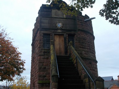 CHESTER. Tower on Wall.