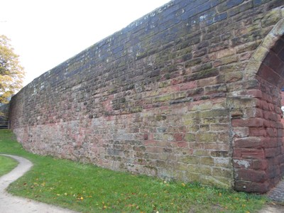 CHESTER. City Wall.