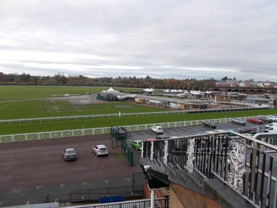 CHESTER  Race Coarse.  Oldest in Britain.