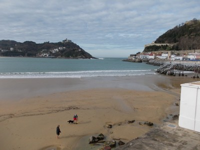 SAN SEBASTIAN  SPAIN.  One of three beaches.