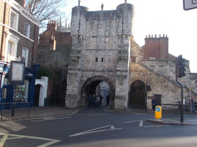 BOOTHAM BAR YORK, Entry to city.