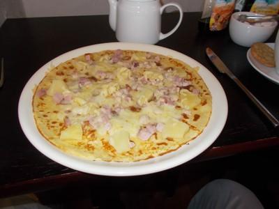 CAERNARFON  WALES UK.  Dutch Pancake.