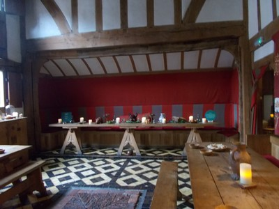 GREAT HALL IN BARLEY HALL off Stonegate. York.