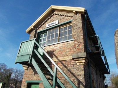 BEDALE SIGNAL CABIN.