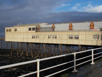 ABERYSTWYTH  WALES..   Pier.