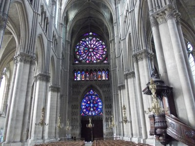 REIMS,  FRANCE.    Cathedral.
