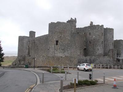 HARLECH  WALES  Castle, near entrance.