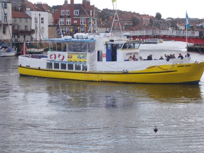 WHITBY, SEA TRIP BOAT.
