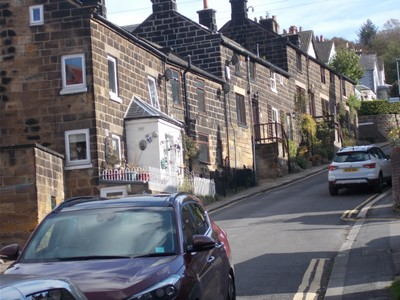 UP THE HILL IN GROSMONT.