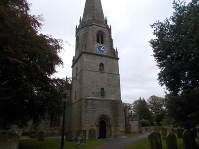 MASHAM. ST. MARYS CHURCH