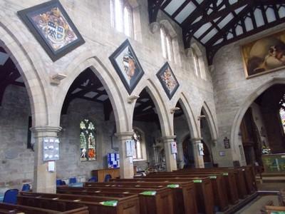 MASHAM.ST. MARYS CHURCH