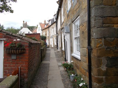 ROBIN HOODS BAY ,One of the side streets.