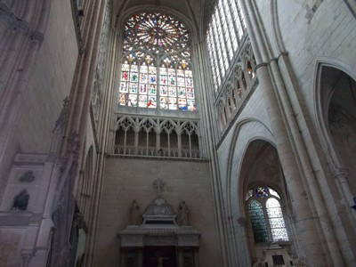 LE MANS , FRANCE.  St.Julien  Cathedral.
