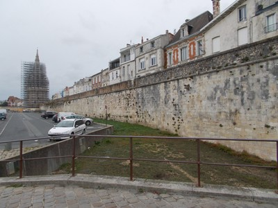 LA ROCHELLE  FRANCE  City Wall.