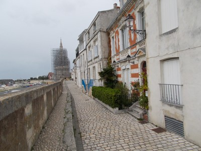 LA ROCHELLE  FRANCE.  On the city wall.