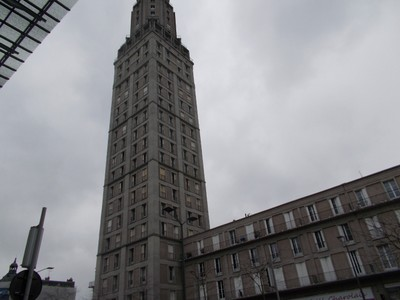 AMIENS,  FRANCE.  Tower Perret.   Office and Residential block.  110m high with 25  floors.